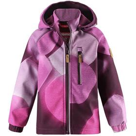 Reima Kids Vantti Softshell Jacket Deep Purple